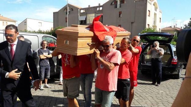 Il sindaco di Fano, Massimo Seri, ha proclamato il lutto cittadino (Foto Petrelli)