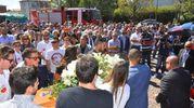 Folla per Mattia (foto Artioli)