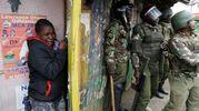 Kenya, scontri e violenze dopo i risultati delle elezioni (Lapresse)(Lapresse)