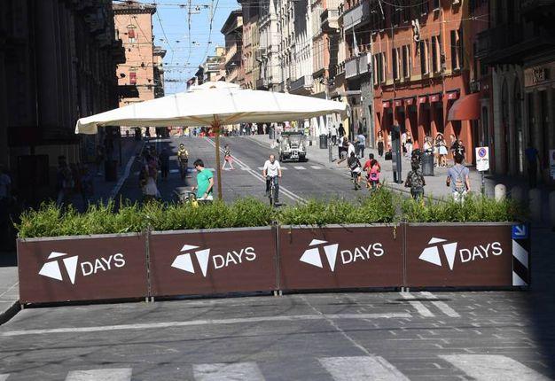 Le nuove barriere dei T-Days (foto Schicchi)