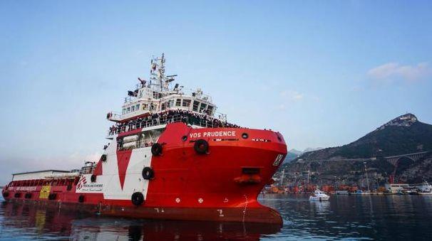 La barca 'Vos Prudence' di Medici Senza Frontiere (Ansa)