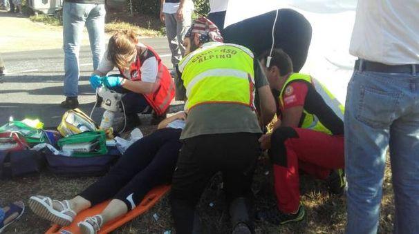 Incidente a Monterenzio, i soccorsi