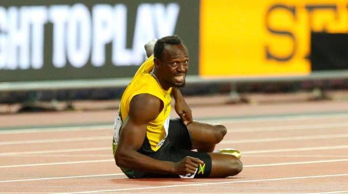 La delusione di Usain Bolt