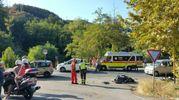 Si sono scontrate due moto e un'auto