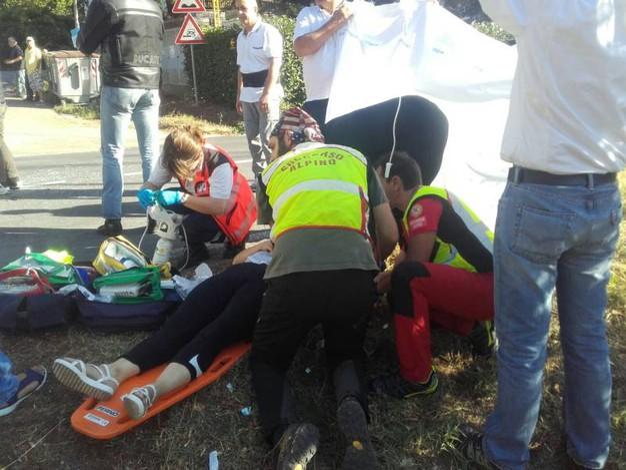 I soccorsi ai feriti