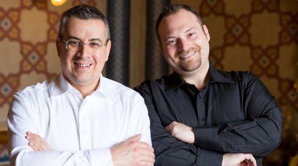 Marco Sollini e Salvatore Barbatano