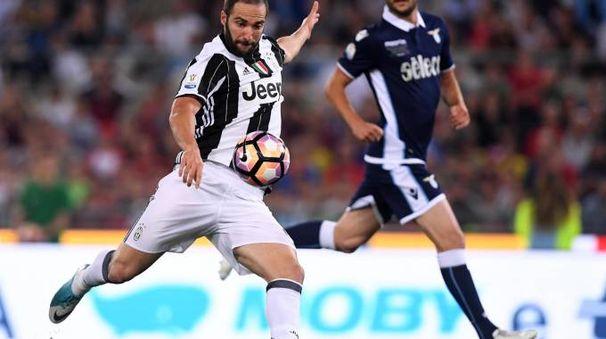 Gonzalo Higuain contro la Lazio