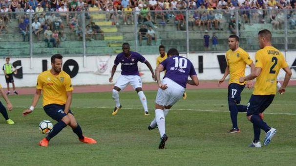 Fiorentina-Parma a Viareggio (foto Umicini)