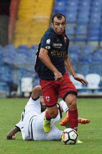Pandev, uno dei migliori in campo per il Genoa (foto LaPresse)