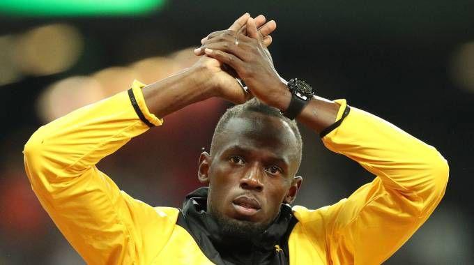 Mondiali atletica, tributo a Bolt (Lapresse)