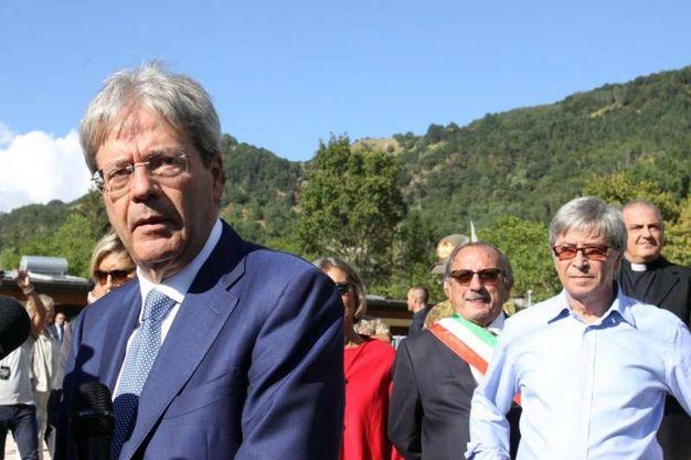 Il premier Paolo Gentiloni (foto Labolognese)