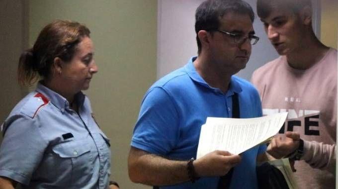 Il momento della scarcerazione di Khabiboul Khabatov