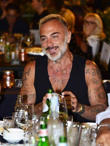 Gianluca Vacchi al ristorante Margot di Milano Marittina (Foto Carlo Morgagni)