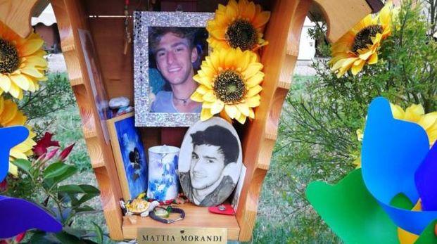 La tomba di Mattia Morandi