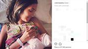 Caterina Balivo con la piccola Cora (Instagram)