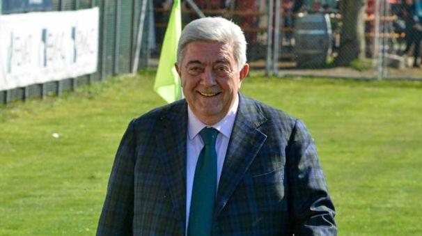 Il presidente Zambelli ha dato le dimissioni (Foto Donzelli)