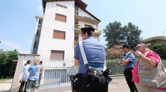 L'abitazione di Antonietta Migliorati (Newpress)