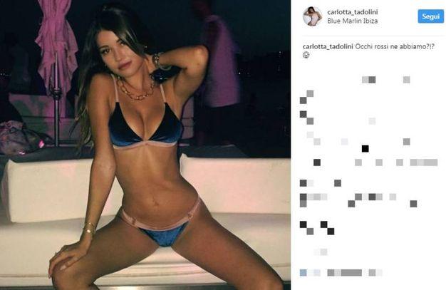 Carlotta Tadolini  su Instagram