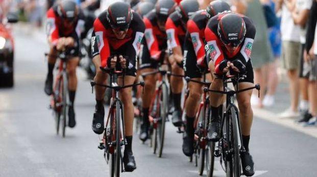 Vuelta 2017, la Bmc vince la cronosquadre