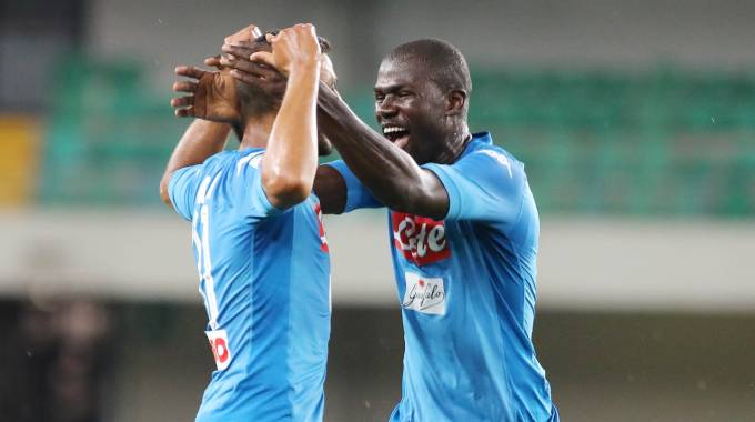 Verona-Napoli 1-3 (LaPresse)