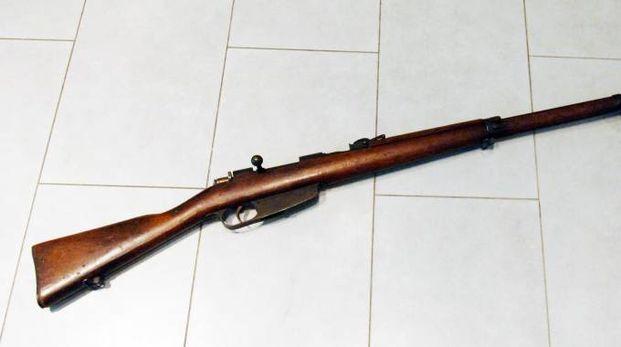 Un fucile (foto di repertorio)