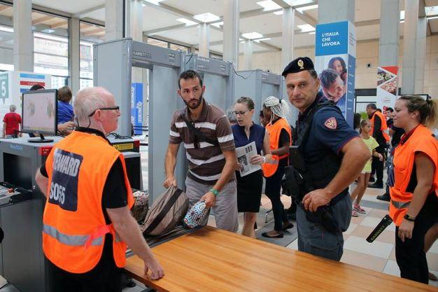 Al meeting come in aeroporto con i metal detector (foto Petrangeli)