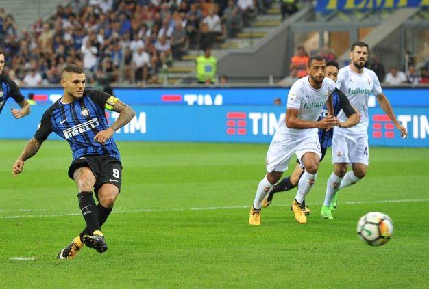 Inter-Fiorentina 1-0, Icardi (Newpress)