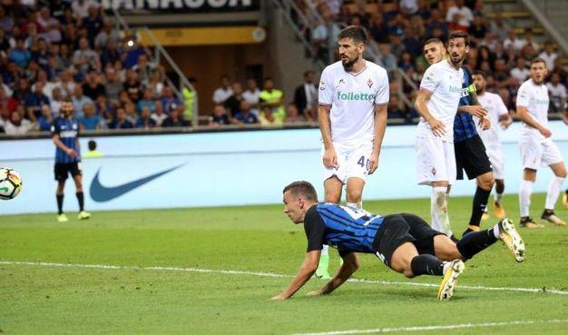 Inter-Fiorentina 3-0, Perisic (Ansa)
