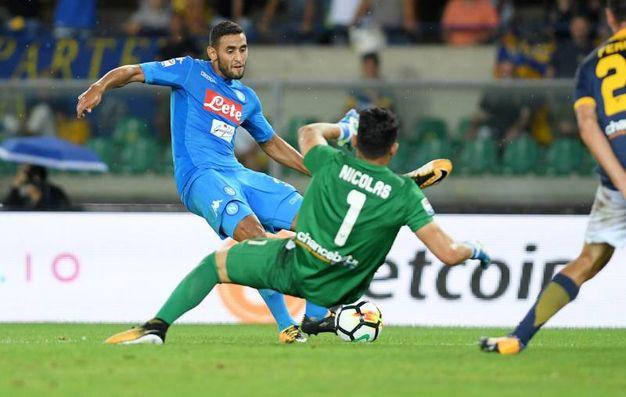 Verona-Napoli 0-3, Ghoulam (Alive)