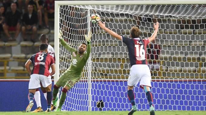 Il gol di Federico Di Francesco