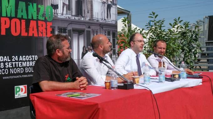 Festa dell'Unità, la conferenza stampa di presentazione (foto Schicchi)