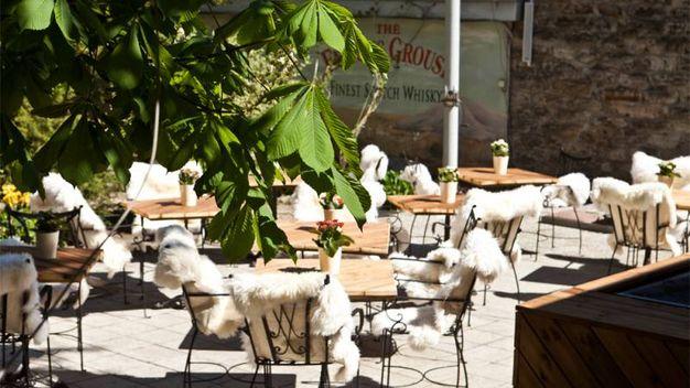 La terrazza del Leib Restoran – Foto: leibresto.ee