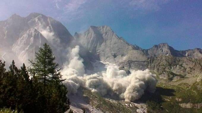 Frana in Val Bregaglia (Foto Facebook)