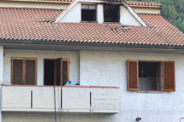 L'esterno della casa (Foto Attalmi)