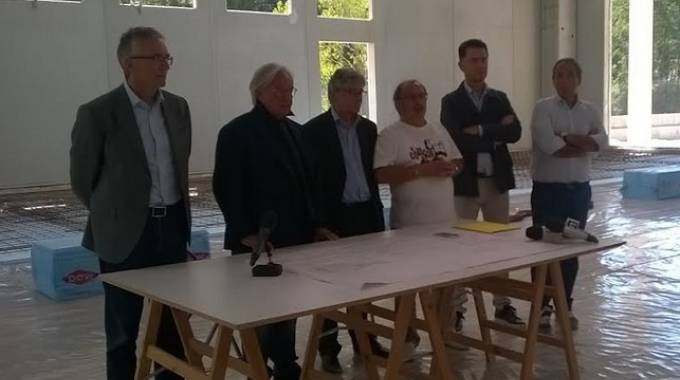 """Arquata del Tronto, Della Valle: """"La fabbrica sarà pronta a dicembre"""""""