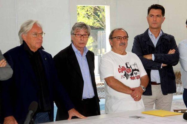 Anche Vasco Errani alla visita di Della Valle (LaBolognese)