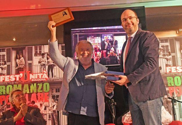 Critelli premia Pupi Avati (foto Schicchi)