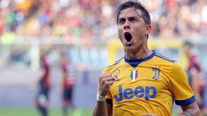 Genoa-Juventus, Paulo Dybala firma una tripletta (Lapresse)