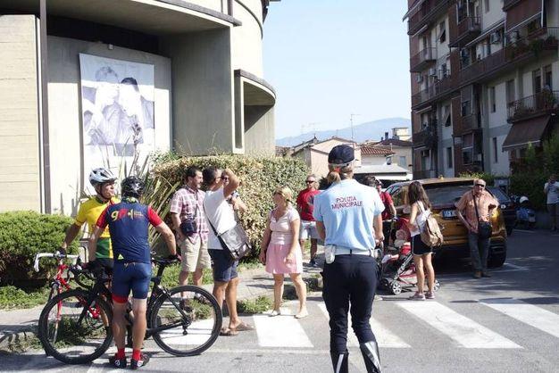 La messa a Vicofaro (foto Gianni Attalmi)