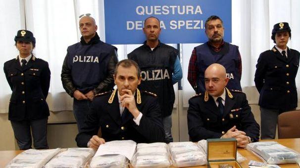 Conferenza stampa arresti