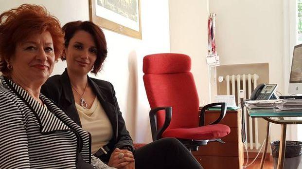 Maria Rosa Piovani ed Elena Sabattini