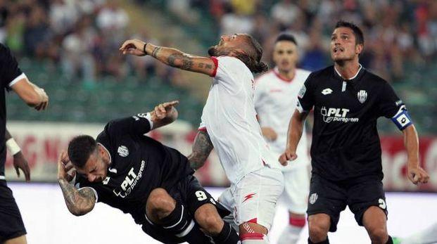 Bari-Cesena 3-0, male la prima. Bianconeri travolti (foto LaPresse)