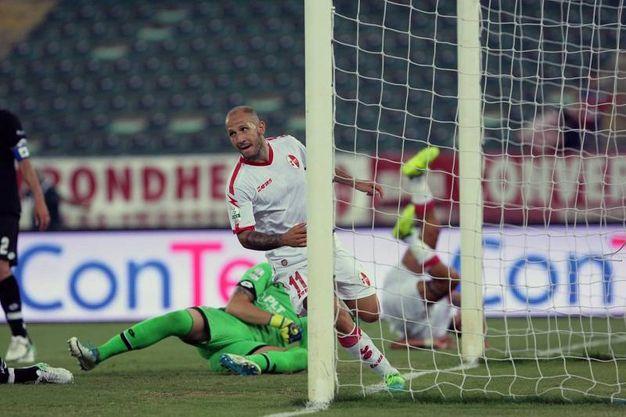 Il gol di Galano (foto LaPresse)
