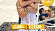 """Ambra Angiolini e Massimiliano Allegri, nella prima foto insieme risalente allo scorso luglio di """"Chi"""""""