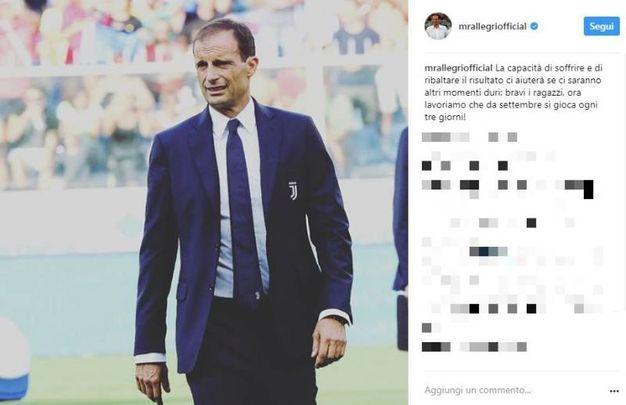 Massimiliano Allegri (Instagram)