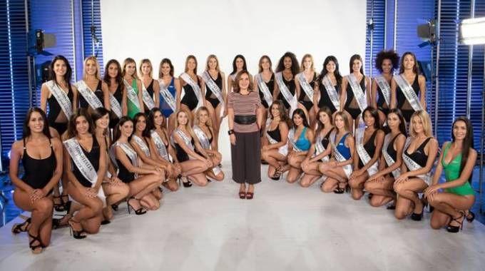 Le trenta finaliste di Miss Italia (dal sito di Miss Italia)