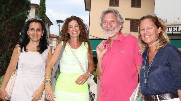 Da sinistra, Ventura, la funzionaria della Regione Nannicini, Bellandi e Fratoni