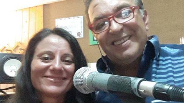 Cantante e docente Valeria Visconti con Antonio Rey Topi del Premio nazionale Bruno Lauzi