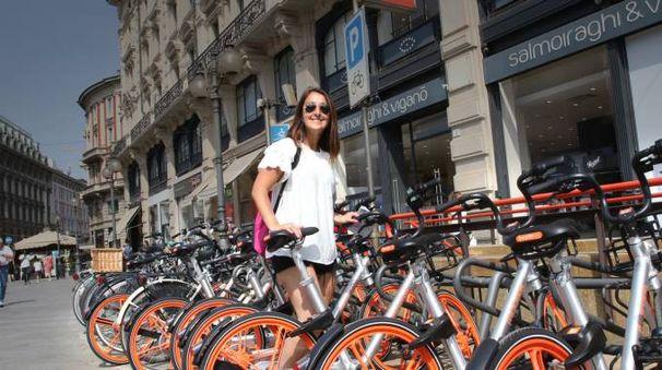 Nuovo bike sharing free floating (Newpress)