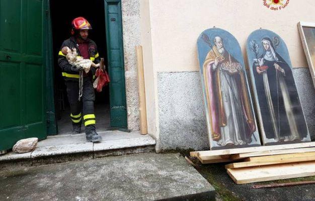 Recupero Opere Chiesa San Pellegrino